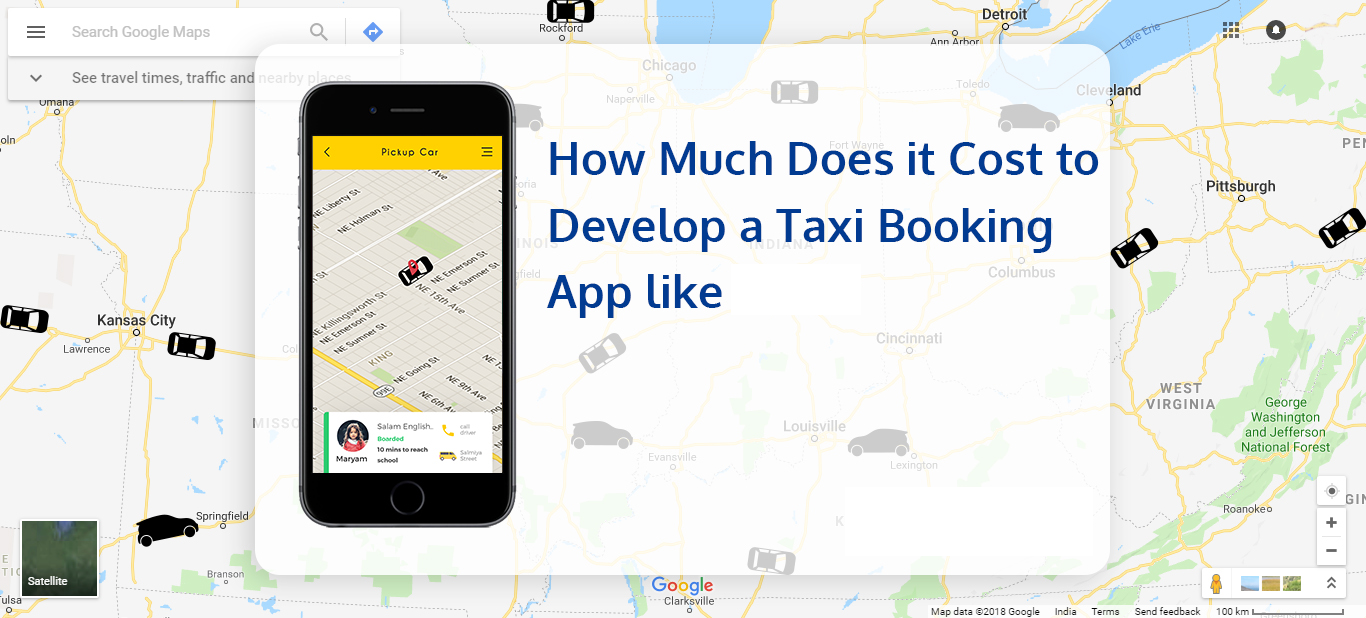 how much it cost to make a taxi mobile app